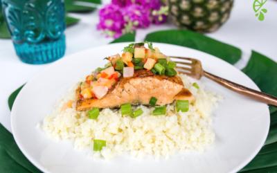Pineapple Salsa Salmon – Quick & Easy Dinner