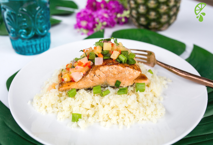 Recipe: Pineapple Salsa Salmon – Quick & Easy Dinner