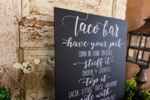 Taco Bar Sign Via Chalkinhand Etsy