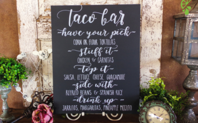 Here's Why You Need A Taco Bar At Your Wedding
