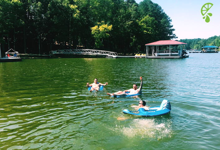 Summer Traditions: Spending time at the family lake house