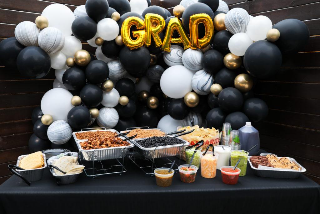 Graduation Party Planning - Balloon Decor Inspiration