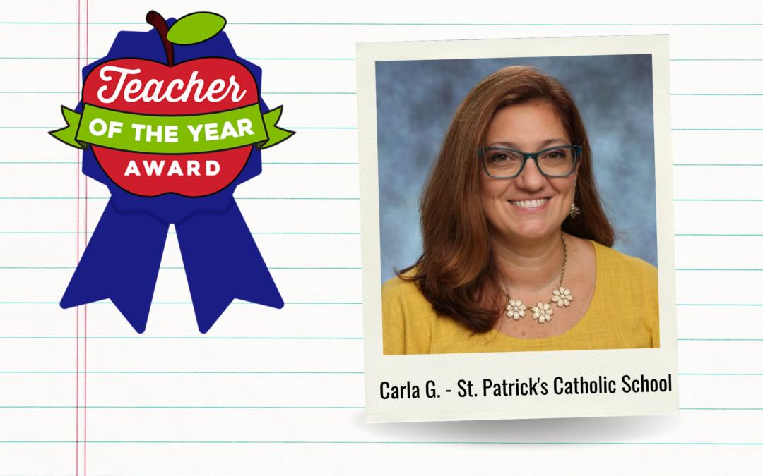 Meet Our Teachers of the Year: Carla G.