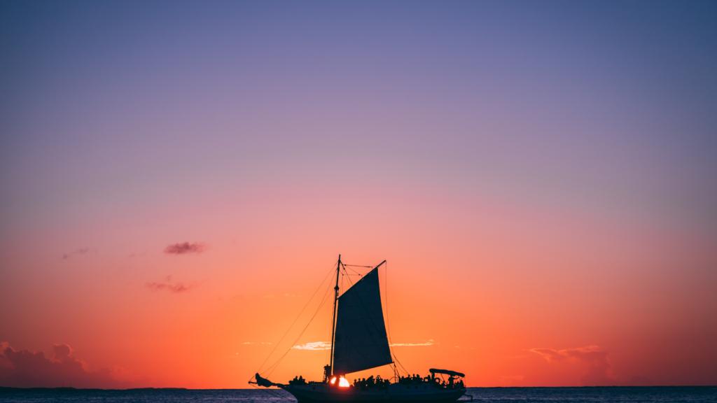 sunset cruise proposal photography