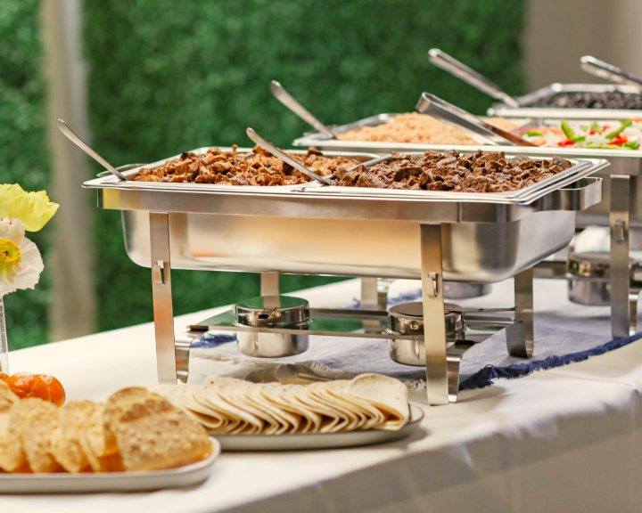 Catering delivered picture